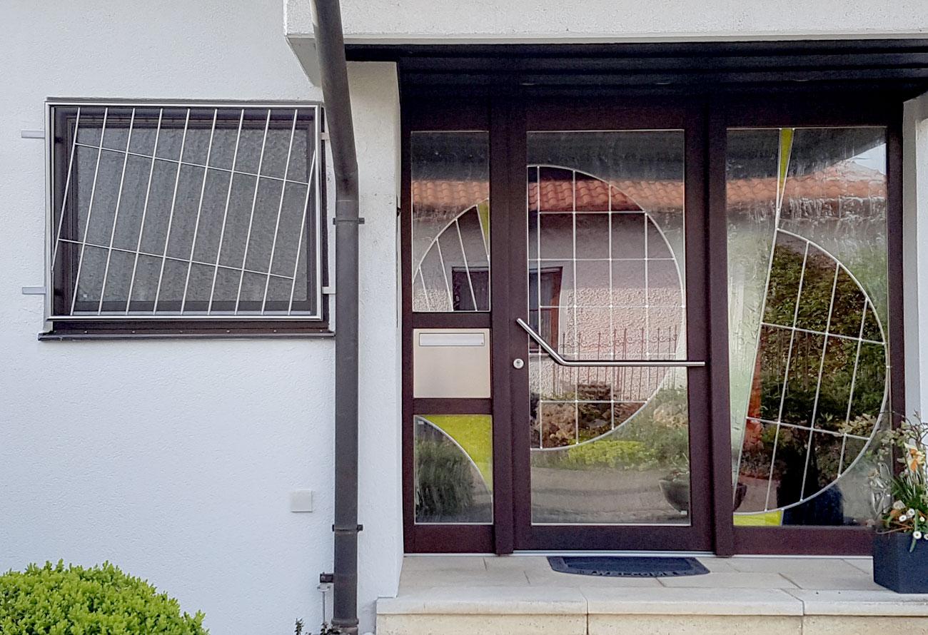 Schlosserei Baumann - Fenstergitter
