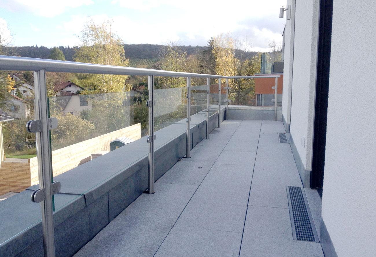 Schlosserei Baumann - Geländer