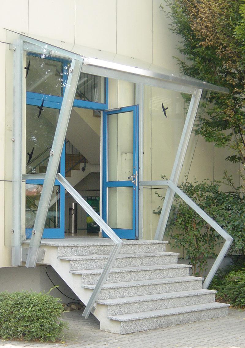 Schlosserei Baumann - Überdachungen