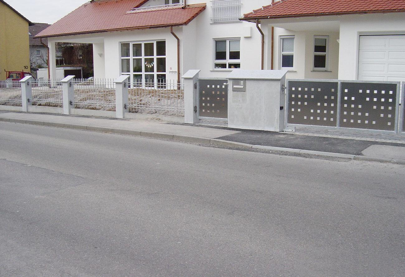 Schlosserei Baumann - Zaunanlagen