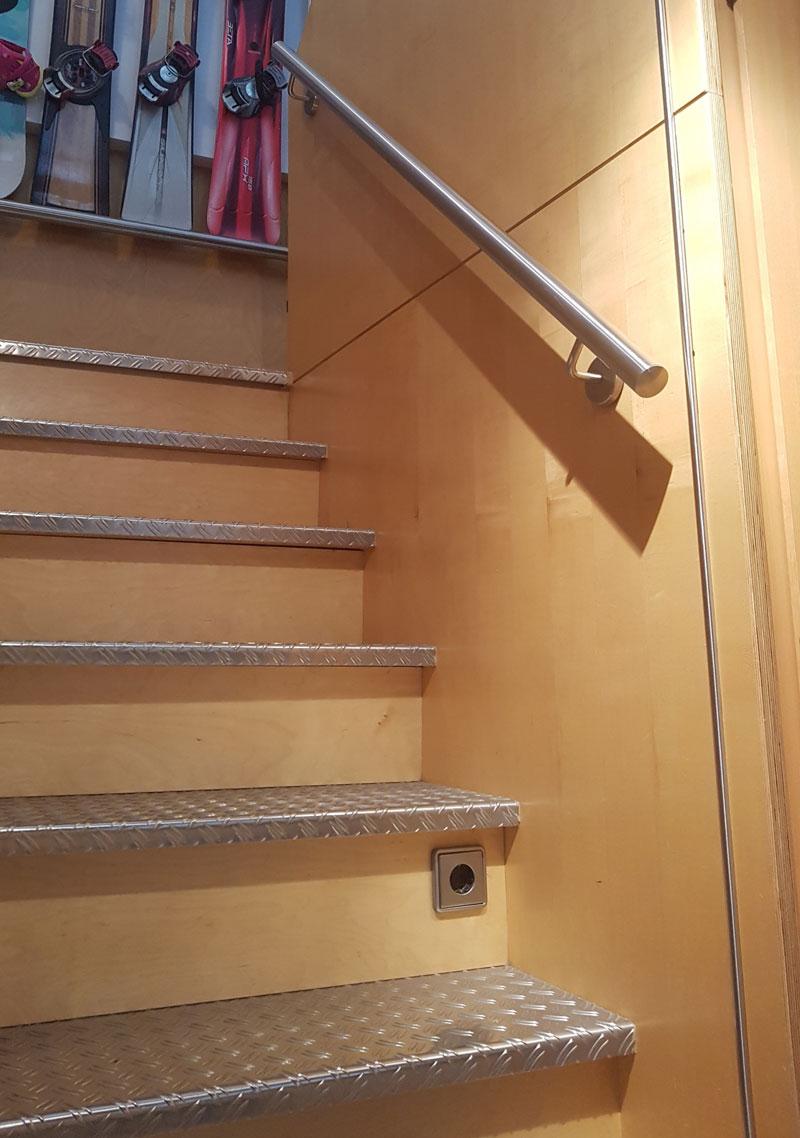 Schlosserei Baumann - Treppen